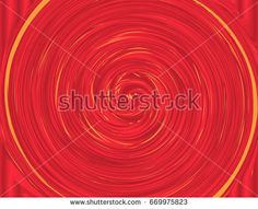 Red and Yellow Colors Whirlpool Background for Your Design.