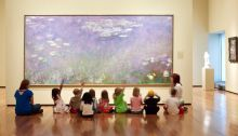 Museum Questions - Reflections on Museums, Programs, and Visitors Mobile Art, Social Art, Visual Thinking Strategies, Preschool Art, Childhood Education, Learn Art, Teaching Art, Elements Of Art, Arts Ed