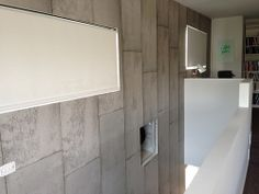 Concrete Wallpaper by Piet Boon from www.removablewallpaper.com.au .Installation was done by www.cuttingedgewallpapering.com.au by Cutting E...