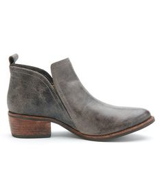 This Charcoal Courage Suede Bootie by Matisse is perfect! #zulilyfinds