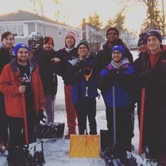 This week's goes out to the men of Phi Delta Theta who spent some of the blizzard shoveling the sidewalks and driveways of some of their neighbors! Go Greek, Greek Life, Phi Delta Theta, Sidewalks, Driveways, Mondays, Going Out, Pride, Instagram Posts