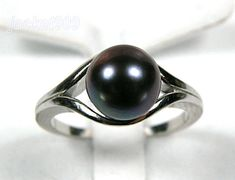 black pearl ring                                                                                                                                                     More