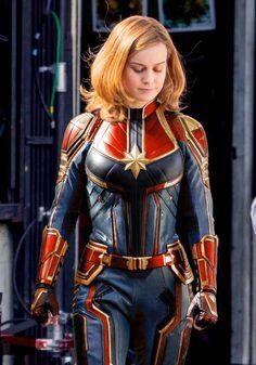 My Captain Marvel suit recolor - Imgur