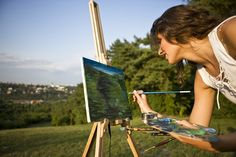 Plein air painting master classes