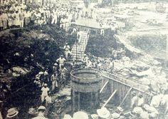 Central Hidroeléctrica 5 de Noviembre en construcción  Ubicada a 88 kilómetros de la ciudad de San Salvador, en el sitio conocido como Chorrera del Guayabo sobre el Rio Lempa.