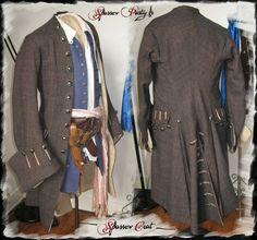 Sparrow Replica Costume Homemade Coat / Waiscoat .... Costume Jack Sparrow, Jack Sparrow Cosplay, Pirate Cosplay, Mode Pirate, Homemade Pirate Costumes, Steampunk Pirate, Cyberpunk Clothes, Pirate Fashion, Period Outfit