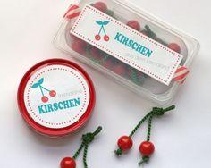 Obst basteln Kirschen Kaufladen. www.limmalandlcom