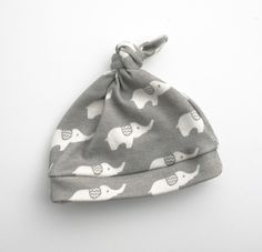 Gray+Elephant+Organic+Baby+Hat+Ready+To+Ship+06+by+GrowingUpWild
