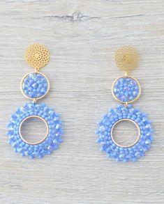 DSC_06552 Fancy Earrings, Seed Bead Earrings, Beaded Earrings, Earrings Handmade, Gold Earrings, Crochet Earrings, Drop Earrings, Bead Jewellery, Diy Jewelry