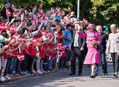 Queen Margrethe visit Odsherred Favrskov and Langeland.1