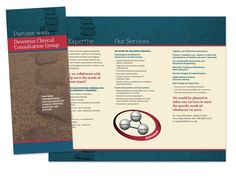 Contemporary Brochure Design For Immigration Advocates Network In