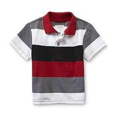 WonderKids Infant & Toddler Boy's Polo Shirt - Striped - Baby - Baby & Toddler Clothing - Tops $7.99