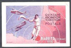 France-Postcard-Biarritz-Aeronautique-Maximum-1936-L-K