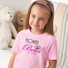 Flower girl, Flower Girl Shirt, wedding shirt, Ring bearer, wedding rehearsal, wedding day, DIY wedding, Maid of honor, bridal party