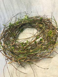 Transparent wreath Theme: nature Grapevine Wreath, Grape Vines, Wreaths, Nature, Crafts, Decor, Braid, Naturaleza, Manualidades