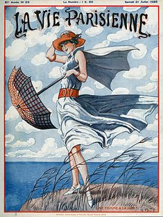 La Vie Parisienne Magazine Cover Image Courtesy of The Advertising Archives…