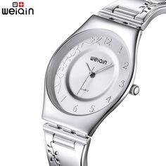 WEIQIN Super Slim Quartz Women Watches Luxury Famous Brand Watches Women Female Ladies Clock Women Wrist Watch Montre Femme 2017-in Women's Watches from Watches on Aliexpress.com | Alibaba Group