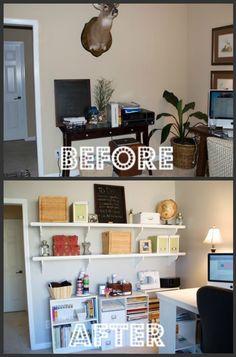 Social Salutations Home Office Makeover Work in Progress