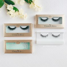 @cheersrachel showing us her House of Lashes Disney Tinker Bell collection featuring our Neverland lashes, Forever Tink lashes, and Just Wing It lashes! ✨