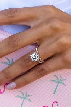 Timeless Engagement Ring, Rose Gold Engagement Ring, Vintage Engagement Rings, Popular Engagement Rings, Engagement Wedding Ring Sets, Engagement Jewelry, Engagement Gifts, Gold Diamond Wedding Band, Wedding Rings Rose Gold