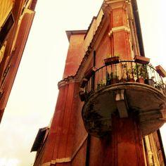 Balkon in Rom
