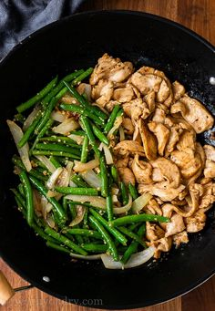 This quick and easy Green Bean Chicken Stir Fry is filled with tender chicken breast and perfectly cooked green beans in a light sauce that's simply irresistible. Hair Tips, Hair Hacks, Ginger Green Beans, Cooking Green Beans, Chicken Stir Fry, Rice Vinegar, Chicken Casserole, Fries, Breast