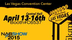 We are 5 days away from NAB Show. Be sure to come by our booth C6537 in the central hall and check out all of the new products we have coming out. We look forward to seeing you there! http://bit.ly/1aHI8E5