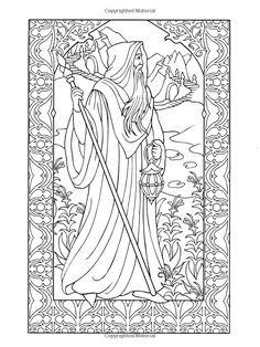 Wondrous Wizards (Dover Coloring Books): Marty Noble: 9780486456669: Amazon.com: Books