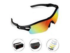 71525f98ec POSHEI P03 Polarized UV Protection Sports Glasses for Men or Women
