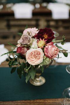 #centerpiece  Photography: Jonas Seaman Photography - jonas-seaman.com  Read More: http://www.stylemepretty.com/2014/06/16/autumn-wedding-with-shades-of-gold/
