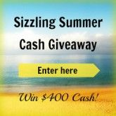 Enter to win $400 cash via PayPal.  http://www.javajohnz.com/2013/06/sizzling-summer-cash-giveaway_24.html