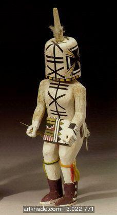 Kachina Aya Hopi, Sud-Ouest, États-Unis