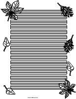Blätter-Briefpapier