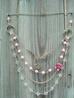 vintage jewelry upcycle- love this