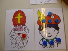 Tellen en cijfers met Sint en Piet.