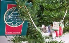 "Hallmark Keepsake Ornament Collector's Club, ""Collect A Dream"", 1989."