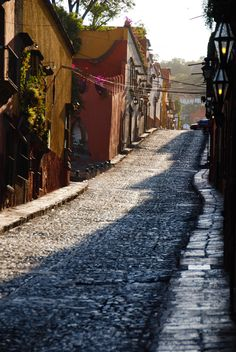 The beautiful streets in town ! San Miguel de Allende, Mexico