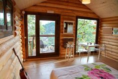 cabañas de madera pequeñitas - Buscar con Google