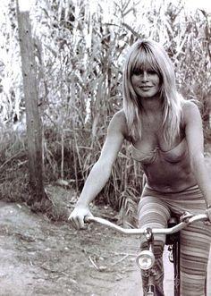 Brigitte Bardot. St. Tropez.