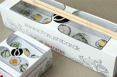 25 Gorgeous Sushi Packaging Designs - Jayce-o-Yesta