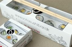 25 Gorgeous Sushi Packaging Designs - Jayce-o-Yesta