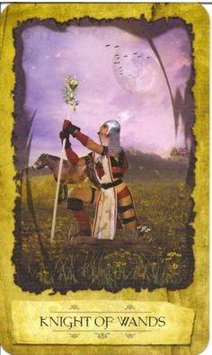 Xem Lá Knight of Wands - Mystic Dreamer Tarot bài tarot Xem thêm tại http://tarot.vn/la-knight-of-wands-mystic-dreamer-tarot/