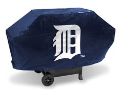 Detroit Tigers MLB Grill Cover Deluxe