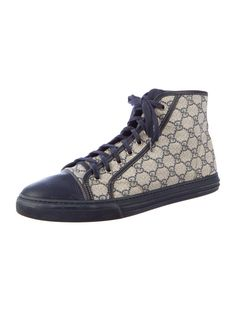 Gucci High-Top Sneakers - Mens Shoes - 0GU21338 | The RealReal    #streetstyle