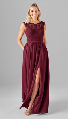 Jade Embroidered Lace Bridesmaid Dress