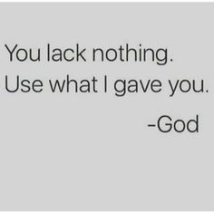 Truth! The word says be content in whatever state youre in. God will and has provided... #JustChill