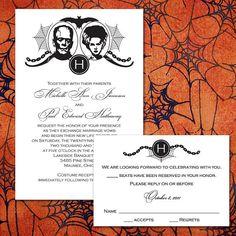 Custom Frankenstein Halloween Wedding by PuttinOnTheGlitz4U, $3.95