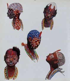 Con esta imagen se podría trabajar la diversidad de culturas que existen con alumnos de educación infantil.