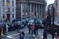Bank Junction: Black cab drivers cause more travel mayhem in road closure protest #UnitedSolicitors #RoadTrafficAccident