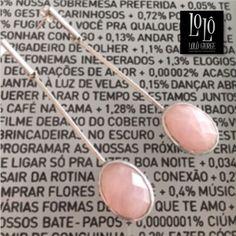 Brinco em prata 950 com pedra natural cor de rosa.  #lologiorge #euquefaço #euquefiz #pedrasnaturais #moda #brinco #exclusivo #encomenda #estilo #enjoy  WhatsApp (11) 9.9901.9408 heloisa@lologiorge.net www.lologiorge.com.br